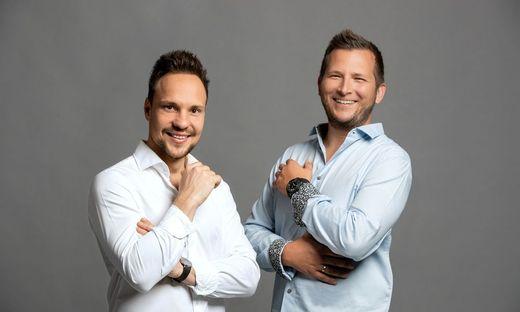 Die beiden jungold-Gründer Christian Gubik und Roman Sixl
