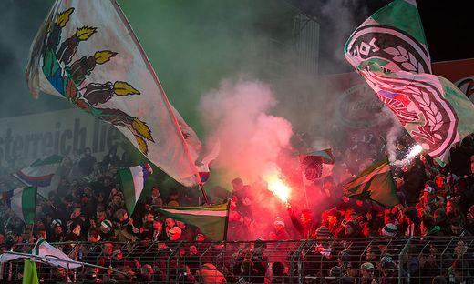 FUSSBALL TIPICO BUNDESLIGA: FC FLYERALARM ADMIRA - SK RAPID WIEN