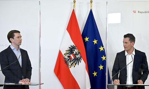 Am Mittwoch werden Kanzler Kurz und Gesundheitsminister Mückstein wieder gemeinsam vor die Presse treten.