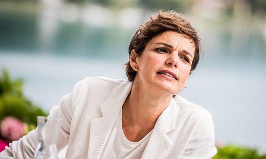 Pamela Rendi-Wagner am Dienstag am Wörthersee