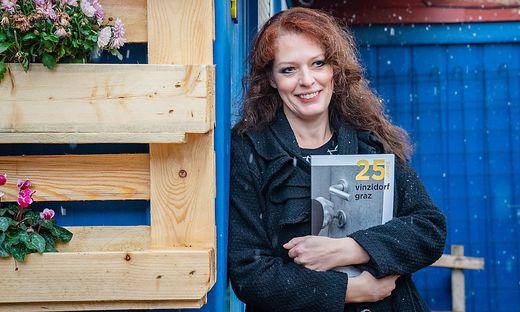 Andrea Sailer arbeitet selbst ehrenamtlich im VinziDorf