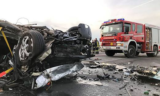 Vier Tote bei frontalem Zusammenstoß auf der S31
