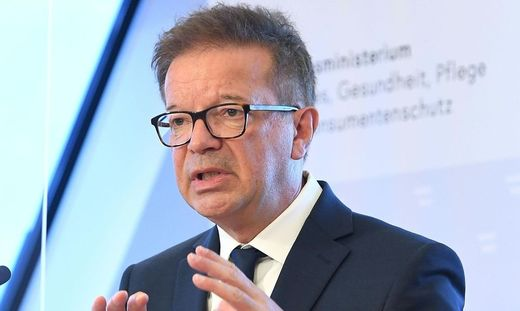 Gesundheitsminister Rudi Anschober