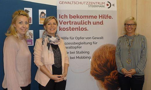 Katja Neger, Marina Sorgo und Birgit Reiner