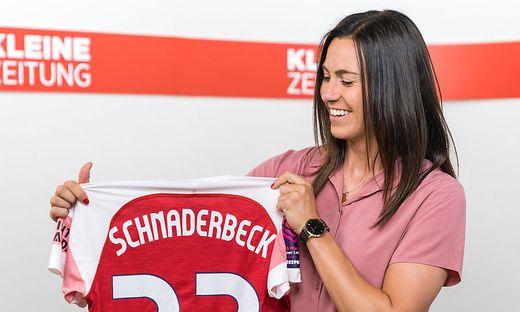 Fußballprofi Viktoria Schnaderbeck (Archivbild)