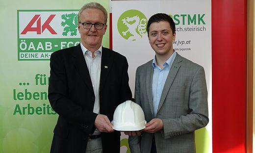 Franz Gosch und Stefan Hofbauer wollen die Jugend fördern