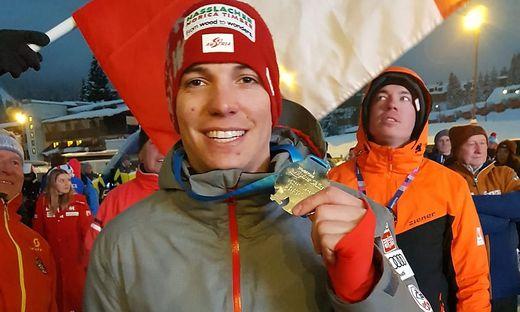Markus Salcher hat bei der Para-Ski-WM in Sella Nevea erneut zugeschlagen. In der Abfahrt holte sich der Kärntner Silber