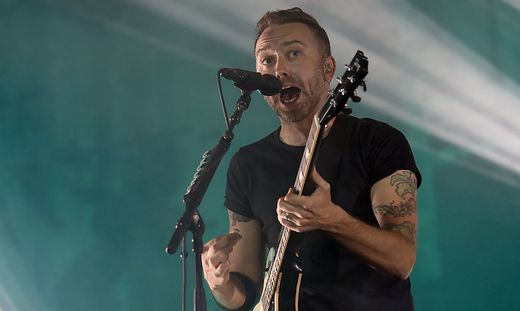 "Tim McIlrath von ""Rise Against"""