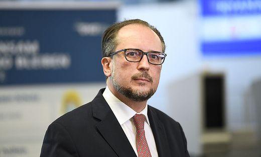 AUSSENMINISTER SCHALLENBERG BEI PRESSETERMIN