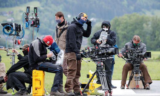 Abstand, Tests und Schutzmasken: Auch im Filmgeschäft gelten jetzt strengere Regeln