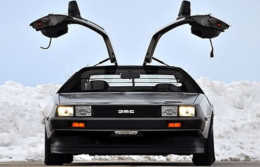 kult kisten delorean ist zur ck aus der zukunft. Black Bedroom Furniture Sets. Home Design Ideas