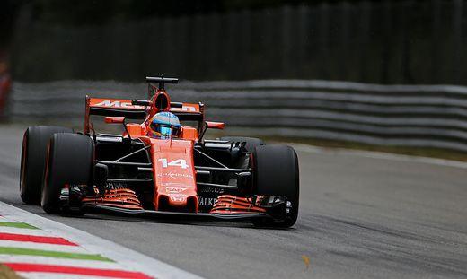 Fernando Alonso litt unter dem Turbo-Motor der Japaner