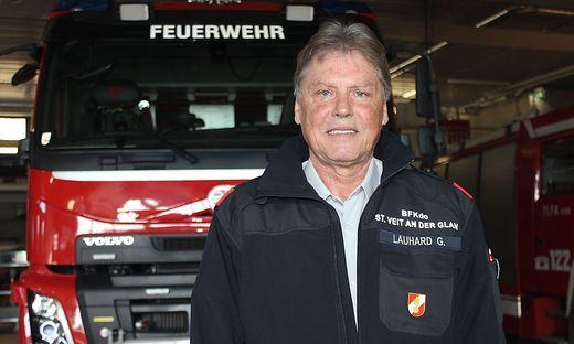 Günther Lauhard ist mit Leib und Seele Feuerwehrmann