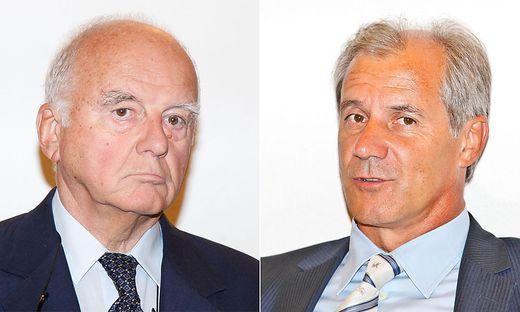 Prominente Zeugen: Dietrich Birnbacher (links) und Josef Martinz