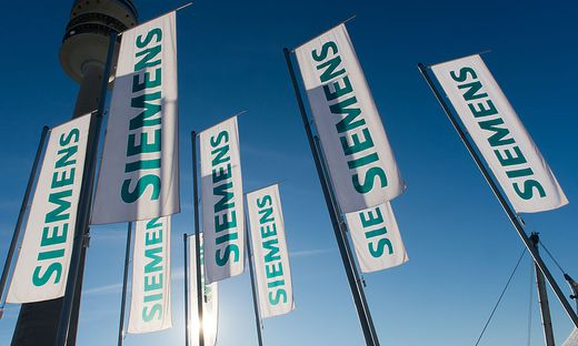 Siemens-Fahnen
