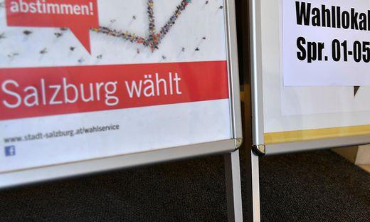 BUeRGERMEISTERWAHL IN SALZBURG: FEATURE
