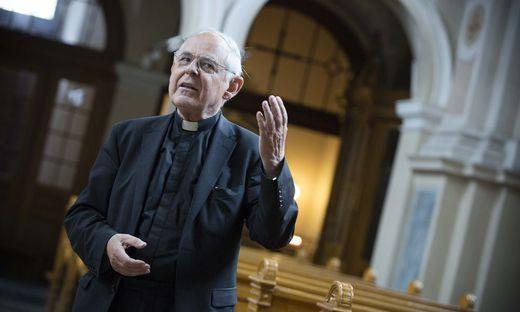 Pfarrer Wolfgang Pucher feiert heute seinen 80. Geburtstag