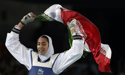 Kimia Alizadeh kehrt ihrer Heimat den Rücken