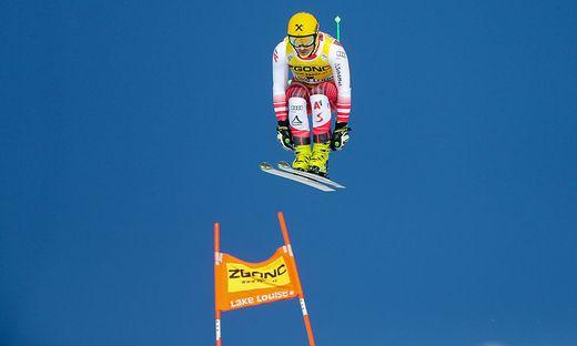 Max Franz siegte im Vorjahr in Lake Louise