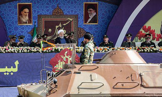 Militärparade in Teheran