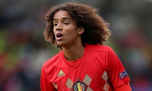 Belgium v Denmark UEFA European U17 U 17 Championship Group C Proact Stadium Belgium s Gabriel