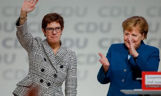 GERMANY-POLITICS-CDU-CONGRESS