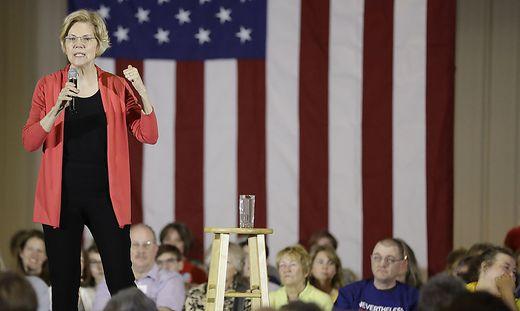 Die demokratische Senatorin ist eine jener US-Politikerinnen, die eine höhere Besteuerung von Superreichen fordert