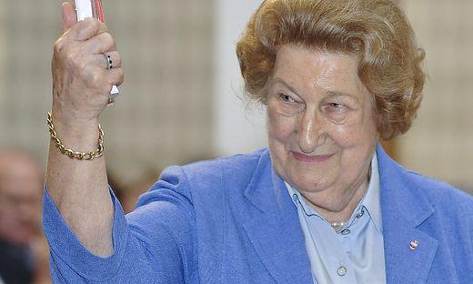 Maria Schaumayer, die erste Frau an der Spitze der Nationalbank