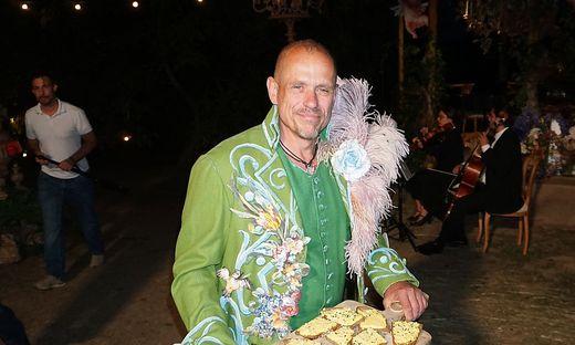 Danke-Fest von Gery Keszler bei ihm privat im Suedburgenland