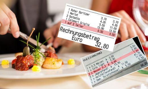 Extra-Kosten für Teller oder Leitungswasser regen Gäste auf