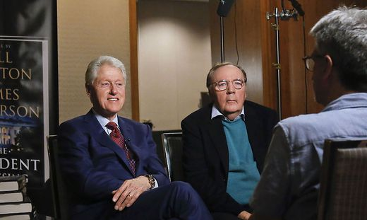 Bill Clinton und James Patterson