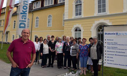 bei der Diakonie De la Tour in Kagenfurt und macht auch Hospiz macht Schule