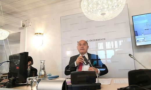 U-Ausschussvorsitzender Wolfgang Sobotka (ÖVP)