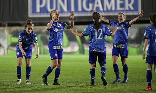 Jubel in Graz: Die Sturm-Damen erreichen wieder die europäische Fußballbühne