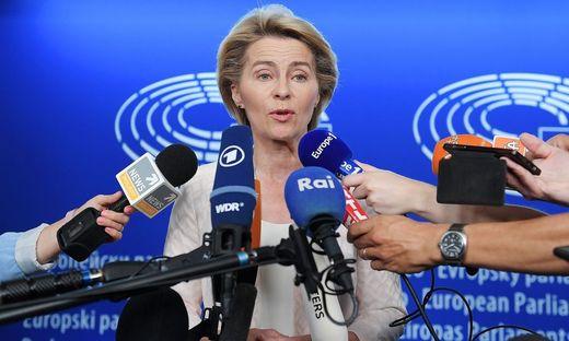Ursula von der Leyen will das EU-Parlament überzeugen