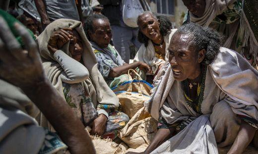 Mehr als 350.000 Menschen leben in der nördlichen Region Tigray laut UNO in katastrophalen Zuständen