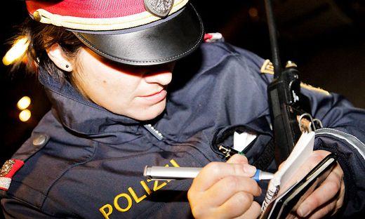 Die Polizei sucht nach dem unbekannten Täter