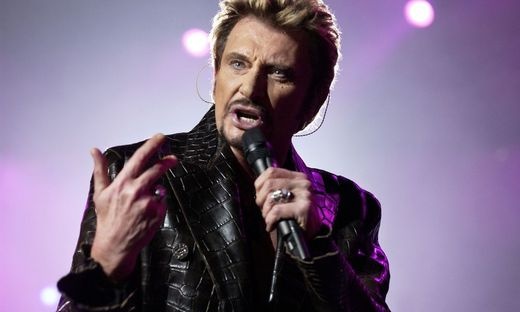 Paris: Rockmusiker Johnny Hallyday tot
