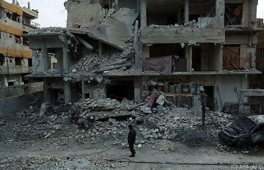 UN-Chef fordert Zugang zu Hilfskorridoren in Ostghouta