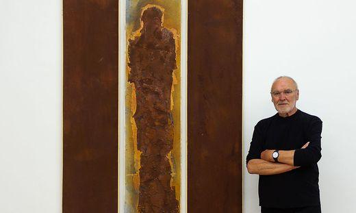 Valentin Oman in der Galerie Zimmermann Kratochwill in Graz