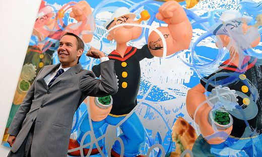 BRITAIN ARTS JEFF KOONS POPEYE