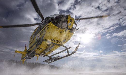 Auch der ÖAMTC-Hubschrauber war im Einsatz