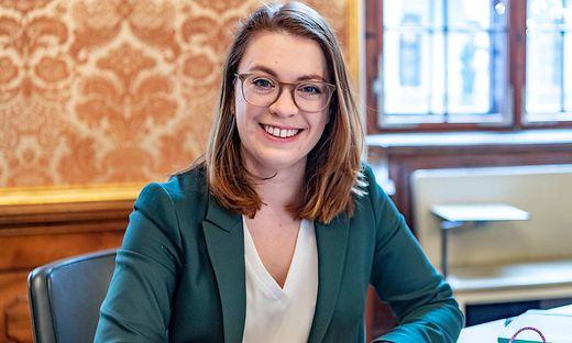 """Lara Köck, steirische Landtagsabgeordnete und Mitglied des grünen Bundesvorstandes: """"Jetzt einmal verdauen, was heute passiert ist"""""""