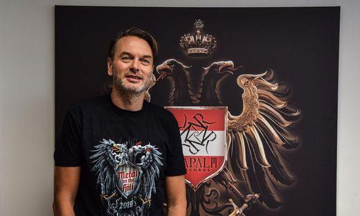 Napalm-Records-Boss Markus Riedler