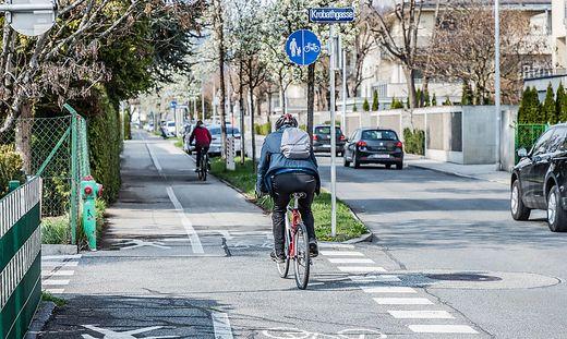 Einer der Brennpunkte in Klagenfurt: die Aichelburg-Labia-Straße