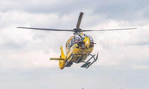 Der Verletzte wurde mit dem Christophorus 12 ins UKH Graz geflogen