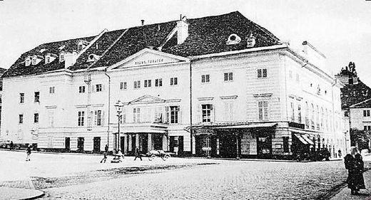 Das Theater am Franzensplatz, in dem die ersten Urania-Veranstaltungen stattfanden
