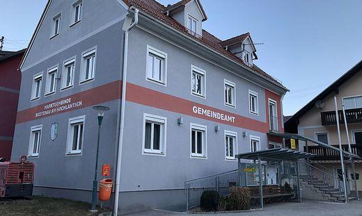 Im Gemeindeamt Breitenau wird seit Montag getestet
