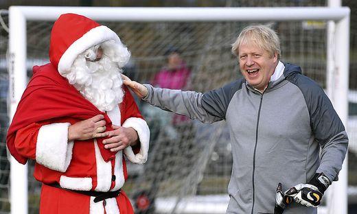 Boris Johnson im Wahlkampfeinsatz