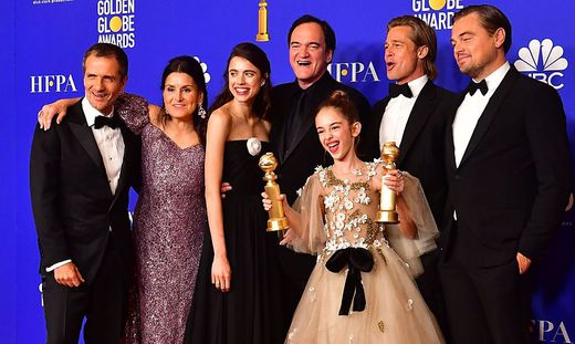 US-ENTERTAINMENT-FILM-TELEVISION-GOLDEN-GLOBES-PRESS ROOM